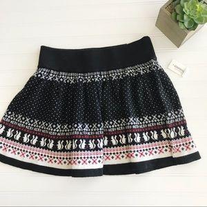 Aeropostale || Fair Isle Sweater Skirt